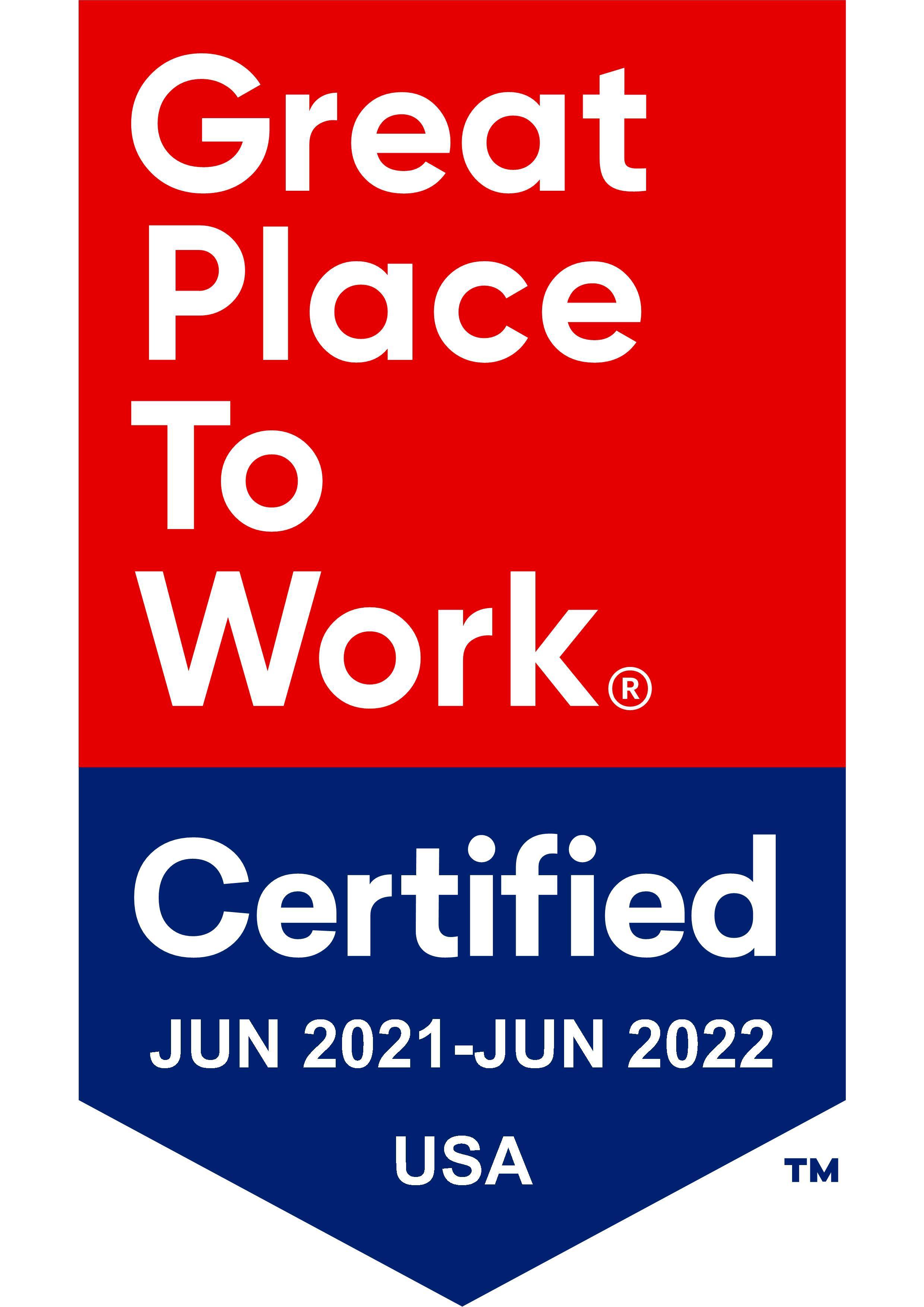 Mary Washington Healthcare 2021 Certification